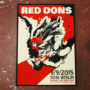 red_dons_gigposter