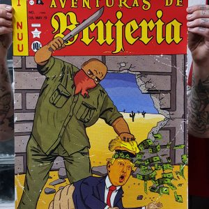 Brujeria Gig Poster 2019 Berlin Detail