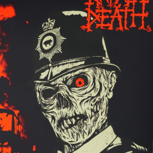 Napalm Death 2020 Berlin Gig Poster Detail